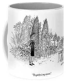 The Garden Is My Resume Coffee Mug
