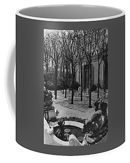 The Garden Of A Home In Meridian Hill Coffee Mug