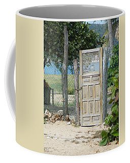 Coffee Mug featuring the photograph The Gates Of Paradise by Brian Boyle