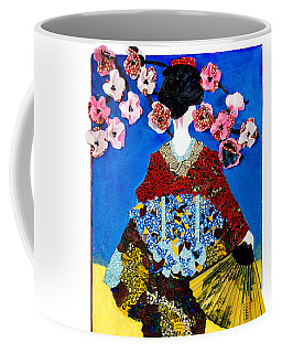 The Geisha Coffee Mug by Apanaki Temitayo M