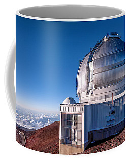 Coffee Mug featuring the photograph The Gemini Observatory by Jim Thompson