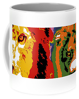 The Ghost And The Darkness Coffee Mug