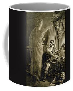 The Ghost Of Julius Caesar, In The Play Coffee Mug