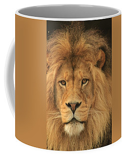The Glory Of A King Coffee Mug by Laddie Halupa