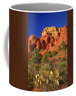 The Glory Of The Desert Red Rocks 1 Coffee Mug