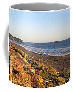 The Golden Coast Coffee Mug by AJ  Schibig