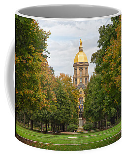 The Golden Dome Of Notre Dame Coffee Mug by John M Bailey