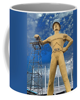 The Golden Driller - Tulsa Oklahoma Coffee Mug