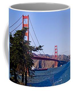 The Golden Gate Coffee Mug by Bill Gallagher