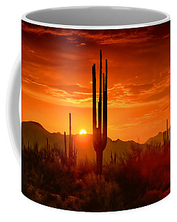 The Golden Southwest Skies  Coffee Mug