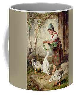 The Goose Girl Coffee Mug
