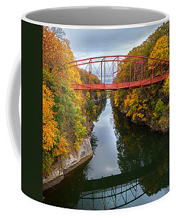 The Gorge Square Coffee Mug