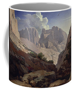 The Gorges Of Atlas, 1843 Oil On Canvas Coffee Mug
