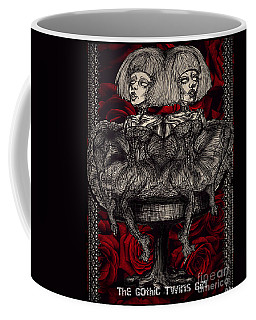 The Gothic Twin Girls Coffee Mug