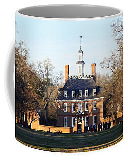 The Governor's Palace Coffee Mug by Patti Whitten