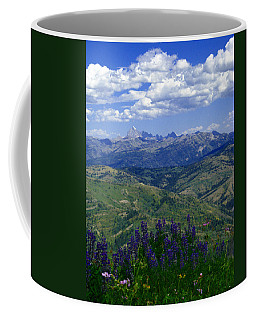 The Grand And Lupines Coffee Mug