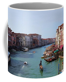 The Grand Canal Venice Oil Effect Coffee Mug