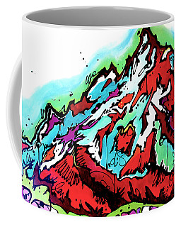 The Grand From Jackson Lake Coffee Mug