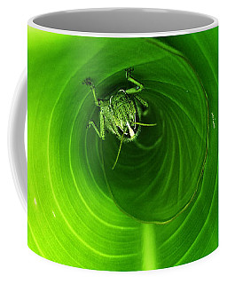 The Grasshopper Flush Coffee Mug