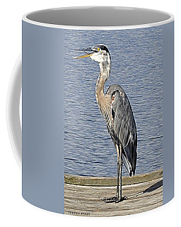 The Great Blue Heron Photo Coffee Mug