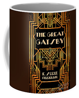 The Great Gatsby Book Cover Movie Poster Art 3 Coffee Mug