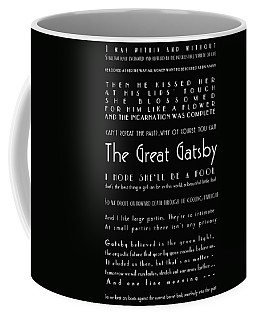 The Great Gatsby Quotes Coffee Mug