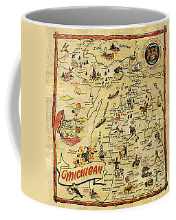 The Great Lakes State Coffee Mug