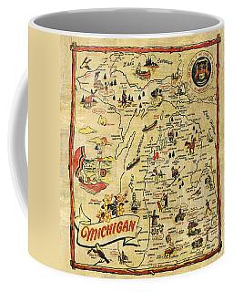 The Great Lakes State Coffee Mug