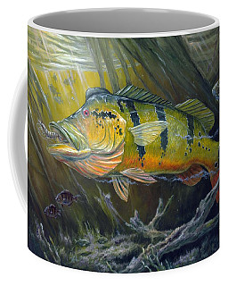 The Great Peacock Bass Coffee Mug