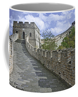 The Great Wall Of China At Mutianyu 1 Coffee Mug