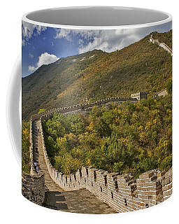 The Great Wall Of China At Mutianyu 2 Coffee Mug