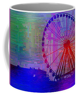 The Great  Wheel Cubed Coffee Mug by Tim Allen