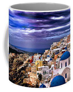The Greek Isles Santorini Coffee Mug