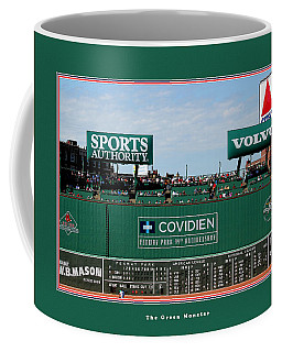 The Green Monster Fenway Park Coffee Mug