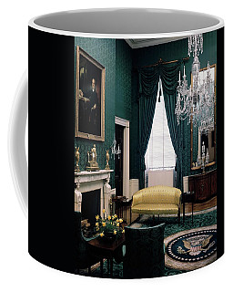 The Green Room In The White House Coffee Mug