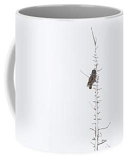 The Grey Hunter On White Coffee Mug