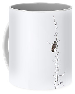 The Grey Hunter On White Coffee Mug