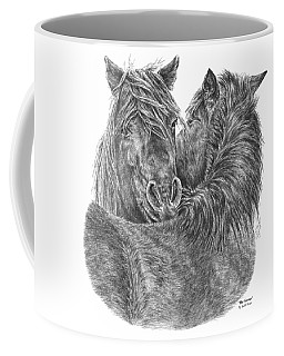 The Groom - Chincoteague Pony Print Coffee Mug