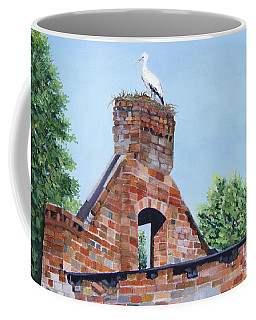 The Guard At Ruins  Coffee Mug