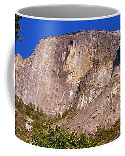 Coffee Mug featuring the photograph The Guardian- Half Dome Yosemite by Glenn McCarthy Art and Photography