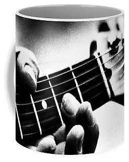 Coffee Mug featuring the photograph The Guitar by Bob Orsillo
