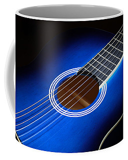 Coffee Mug featuring the photograph The Guitar by Keith Hawley