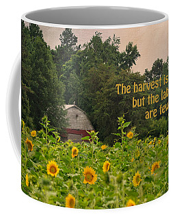 The Harvest Is Plentiful Coffee Mug