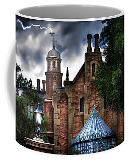 The Haunted Mansion Coffee Mug by Mark Andrew Thomas