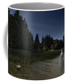 Coffee Mug featuring the photograph The Haunting by Belinda Greb