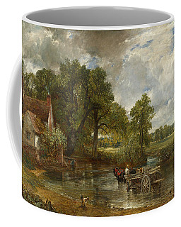 Coffee Mug featuring the painting The Hay Wain by John Constable