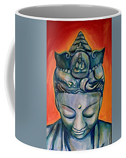 Coffee Mug featuring the painting The Healer 2 by Blake Emory