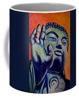 Coffee Mug featuring the painting The Healer by Blake Emory