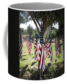 The Healing Field Coffee Mug by Laurel Powell