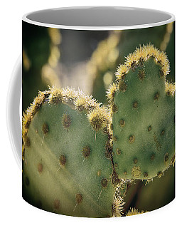 The Heart Of A Cactus  Coffee Mug
